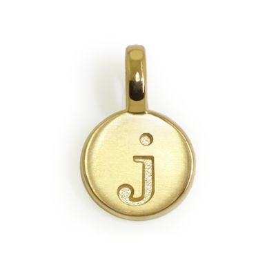 Alex Woo 14K Mini Letter Charms