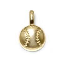 Alex_Woo_14K_Yellow_Gold_Mini_Addition_Sports_Baseball_Charm