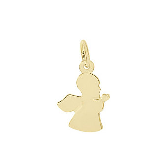 Rembrandt 14K Yellow Gold Small Guardian Angel Charm