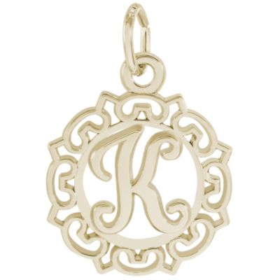 Rembrandt 14K Yellow Gold Initial Charms