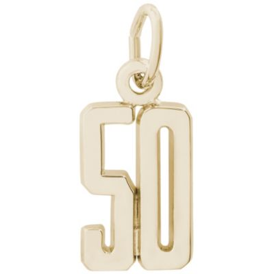 Rembrandt 14K Yellow Gold Number Charms