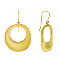 14K_Wavy_Circle_Drop_Earrings