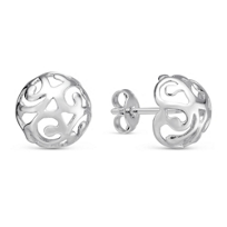 14K_White_Gold_Sphere_Stud_Earrings