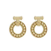 Lagos_18K_Yellow_Gold_Covet_Circle_Earrings