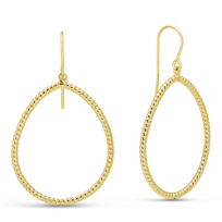 14K_Yellow_Gold_Pear-Shape_Twist_Earrings_with_Shepard's_Hook