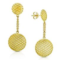 Roberto_Coin_18K_Yellow_Gold_Silk_Circular_Drop_Earrings