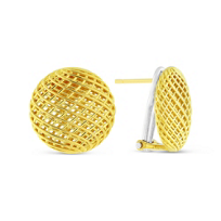 Roberto_Coin_18K_Yellow_Gold_Silk_Collection_Earrings