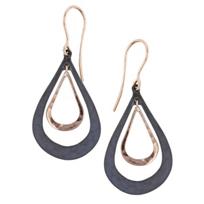 toby_pomeroy_14k_rose_gold_&_matte_black_sterling_silver_double_teardrop_earrings