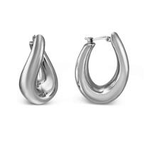 14K_Oval_Twist_Puff_Hoop_Earrings