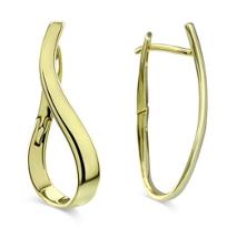 14K_Yellow_Gold_Curved_Hoop_Earrings