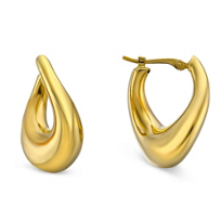 14K_Yellow_Gold_Oval_Puff_Hoop_Earrings