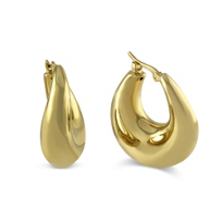 14K_Small_Round_Puff_Hoop_Earrings