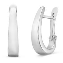 14K_White_Gold_Tapered_J_Hoop_Earrings