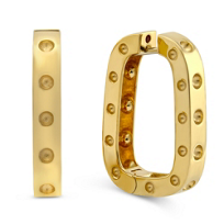 Roberto_Coin_18K_Yellow_Gold_Pois_Moi_Square_Hoop_Earrings,_1.10""