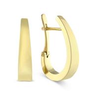 14K_Yellow_Gold_Tapered_J-Hoop_Earrings