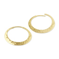 Toby_Pomeroy_14K_Yellow_Gold_Hammered_Eclipse_Hoop_Earrings