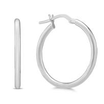 14K_White_Gold_Tube_Hoop_Earrings,_23mm