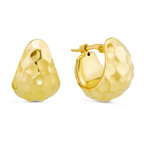 14K_Yellow_Gold_Hammered_Puff_Hoop_Earrings
