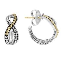 Lagos_Sterling_Silver_&_18K_Yellow_Gold_Inifinity_Hoop_Twist_Earrings
