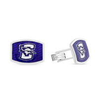 Creighton_Bluejays_Sterling_Silver_&_Blue_Enamel_Cufflinks__