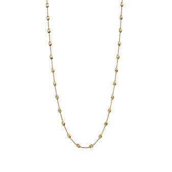 "Marco Bicego 18K Yellow Gold Siviglia Necklace, 47.25"""