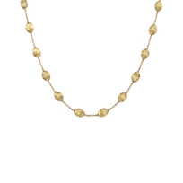 Marco_Bicego_18K_Yellow_Gold_Siviglia_Necklace,_16""