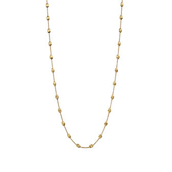 "Marco Bicego 18K Yellow Gold Siviglia Necklace, 39.25"""