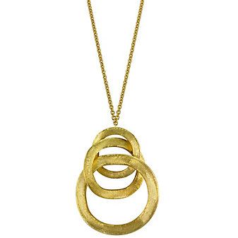 18K Circle Necklace