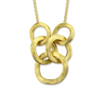 """Marco_Bicego_18K_Yellow_Gold_Jaipur_Link_Necklace,_16.5"""""""