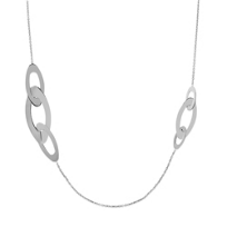 Roberto_Coin_18K_White_Gold_Chic_&_Shine_Necklace,_36""