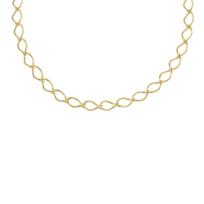 "Carelle_18K_Yellow_Gold_Athena_Necklace,_18"""