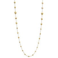 Marco_Bicego_18K_Yellow_Gold_Oval_Bead_Siviglia_Necklace,_36""