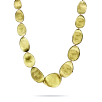 Marco_Bicego_18K_Yellow_Gold_Lunaria_Necklace,_17""