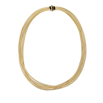"""Marco_Bicego_18K_Yellow_Gold_Il_Cairo_5-Strand_Necklace,_17"""""""