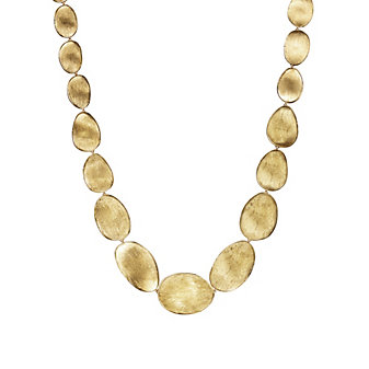"""Marco Bicego 18K Yellow Gold Lunaria Necklace, 18"""""""