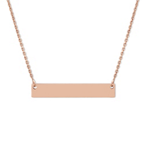 14K_Rose_Gold_Name_Plate_Necklace