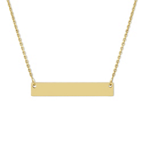 14K_Yellow_Gold_Name_Plate_Necklace