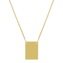 14K_Yellow_Gold_Rectangle_Plate_Necklace