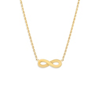 14K_Yellow_Gold_Infinity_Necklace,_18""