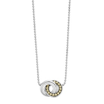 Lagos_Sterling_Silver_&_18K_Yellow_Gold_Enso_Circle_Necklace