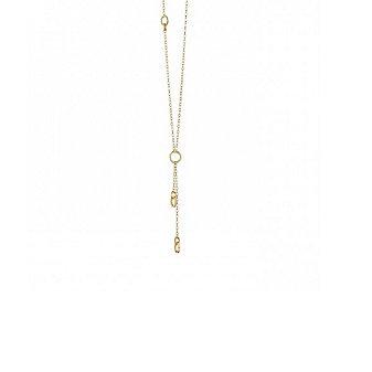 """monica rich kosann 18k yellow gold small charm enhancer chain, 30"""""""