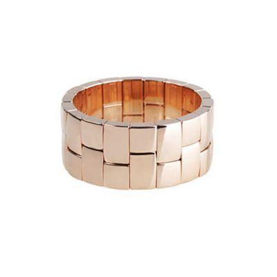 Roberto Demeglio Ceramic & Rose Tone Aura Bracelet