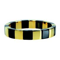 Roberto_Demeglio_Yellow-Tone_&_Black_Ceramic_Aura_Bracelet