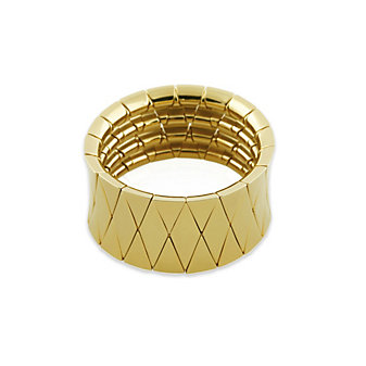 Roberto Demeglio Ceramic & Yellow Tone Aura Diva Bracelet