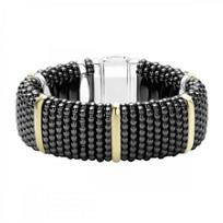 Lagos_Sterling_Silver_Black_Ceramic_Caviar_Beaded_Bracelet