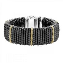 Lagos_Sterling_Silver_Black_Caviar_Beaded_Bracelet