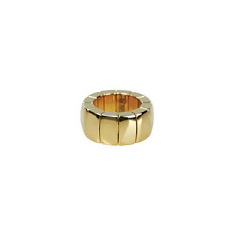 Roberto Demeglio Ceramic and Yellow Tone Aura Ring