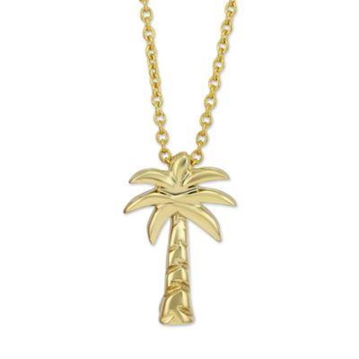 Roberto Coin 18K Yellow Gold Palm Tree Pendant