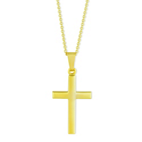 14K_Yellow_Gold_Cross_Pendant