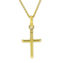 14K_Yellow_Gold_Classic_Cross_Pendant